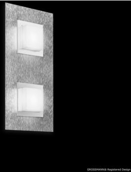Grossmann Leuchten Creo LED 33 x 38,5 cm Aluminium gebürstet (52-770-072)