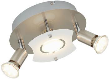Briloner Deckenleuchte, LED Lampe, Deckenlampe, LED Strahler, Spots, Wohnzimmerlampe, Deckenstrahler, Deckenleuchte Wohnzimmer, Deckenspot, Deckenbeleuchtung