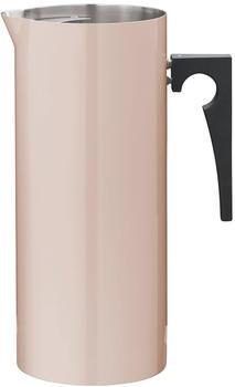 Stelton Cylinda Kanne mit Eislippe 2,00 Liter emaille-powder
