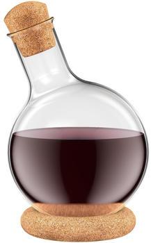 Bodum Melior Dekanter, Infusionskaraffe 1L, Glas, Beige, 12.4 x 12.1 x 21.8 cm