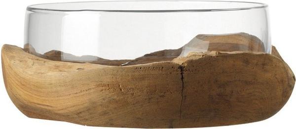 Leonardo Terra mit Teaksockel 28cm