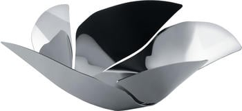 Alessi Obstschale Twist Again silber