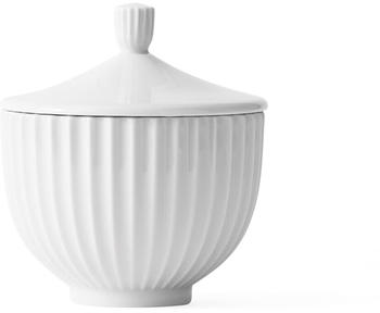 Lyngby Porcelæn Bonbonniere Confectionary Bowl, White (Small)