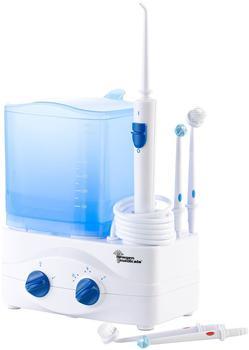 Newgen Medicals Elektrische 3in1-Munddusche mit Wassertank