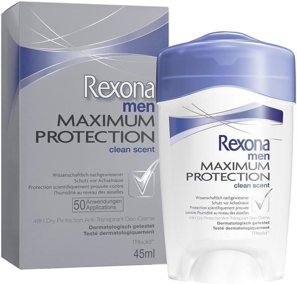 Rexona Maximum Protection Clean Scent Cremestick 45ml