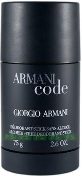 Giorgio Armani Code Homme Deodorant Stick (75 ml)