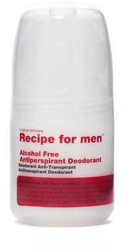 Recipe for Men Alcohol-Free Antiperspirant Deodorant Roll-on (60 ml)