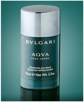 Bulgari Aqva pour Homme Deodorant Stick (75 ml)
