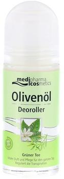 Medipharma Olivenöl Deoroller Grüner Tee (50 ml)