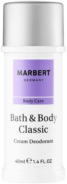 Marbert Bath & Body Classic Cream Deodorant (40 ml)