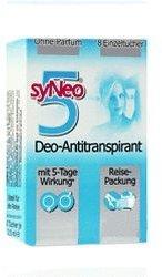 syNeo 5 Antitranspirant Tücher (unisex) Reisepackung