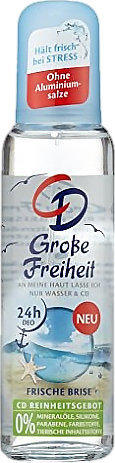 CD Große Freiheit Deospray
