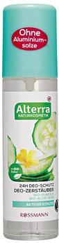 Alterra Deo-Zerstäuber Bio-Gurke & Bio-Aloe Vera