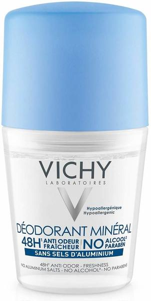 Vichy Mineral Deodorant ohne Aluminiumsalze 48h Roll-On (50 ml)