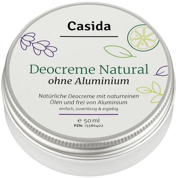 Casida Deo Creme Natural (50 ml)