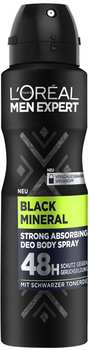 L'Oréal Men Expert Black Mineral Deo Body Spray 150 ml