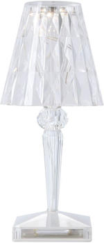 Kartell Battery lámpara de mesa cristal