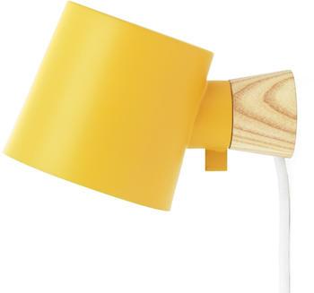 normann-copenhagen-rise-wandleuchte-gelb