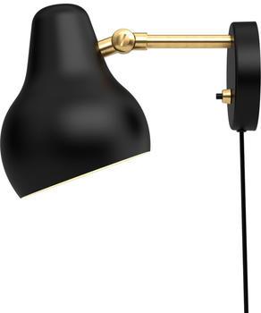 Louis Poulsen VL38 LED Wandleuchte schwarz