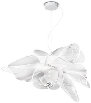 Slamp La Belle Étoile LED Suspension medium Ø 73 cm transparent weiß