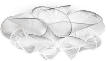 Slamp La Belle Étoile LED Ceiling Wall transparent weiß