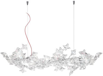Slamp Hanami LED Suspension Large prisma rot