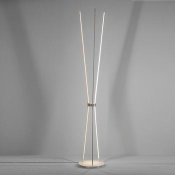 escale-jazz-led-stehleuchte-aluminium-geschliffen-weiss