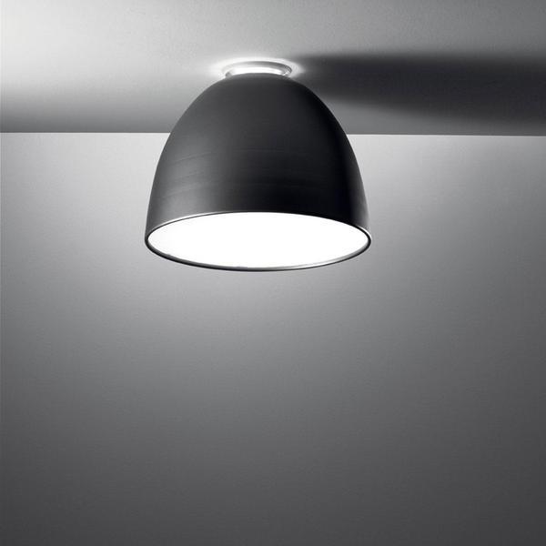 Artemide Nur Mini LED Soffitto anthrazitgrau