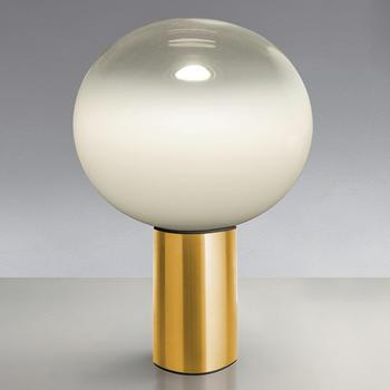 artemide-laguna-tavolo-messing-37-cm-diffusor-transparent-mit-dimmer
