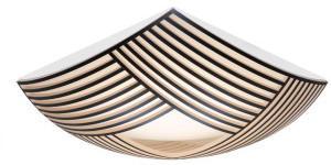Secto Design Kuulto 9100 Wand- Deckenleuchte schwarz laminiert