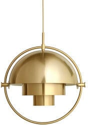 Gubi Multi-Lite Pendel Small Ø22,5cm all Messing (10032993)