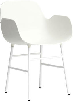 Normann Copenhagen Form Armchair white/steel