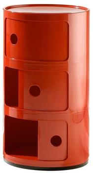 Kartell Componibili 3 Elemente rot (496710)