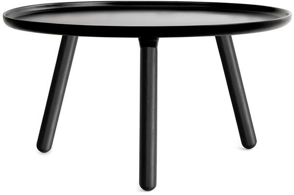Normann Copenhagen Tablo Couchtisch schwarz-schwarz (78cm)