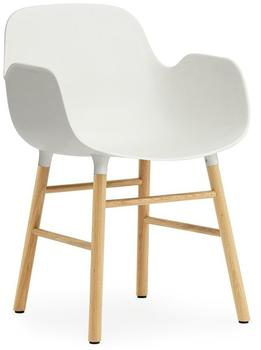 Normann Copenhagen Form Armchair white/oak (602763)