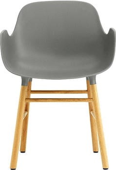 Normann Copenhagen Form Armchair grey/oak