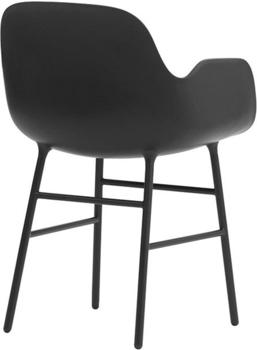 Normann Copenhagen Form Armchair black/steel
