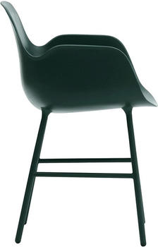 Normann Copenhagen Form Armchair green/steel