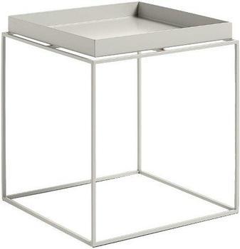 HAY Tray Table 40x40cm warmes grau