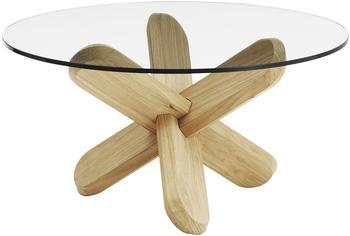 Normann Copenhagen Ding Tisch Eiche Klarglas