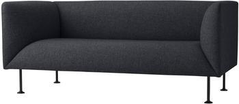 Menu Godot 2-Sitzer Sofa schwarz
