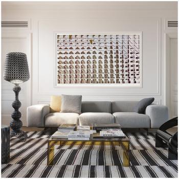 Kartell Largo Dreisitzer-Sofa