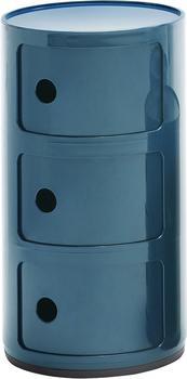 Kartell Componibili 3 Elemente blau (496715)