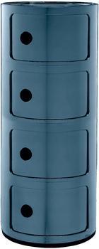 Kartell Componibili 4 Elemente blau (498515)