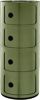 Kartell Componibili 4 Elemente grün (498518)