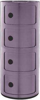 Kartell Componibili 4 Elemente lila (498520)