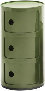 Kartell Componibili 3 Elemente grün (496718)