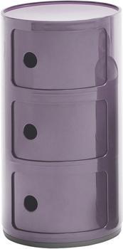 Kartell Componibili 3 Elemente lila (496720)