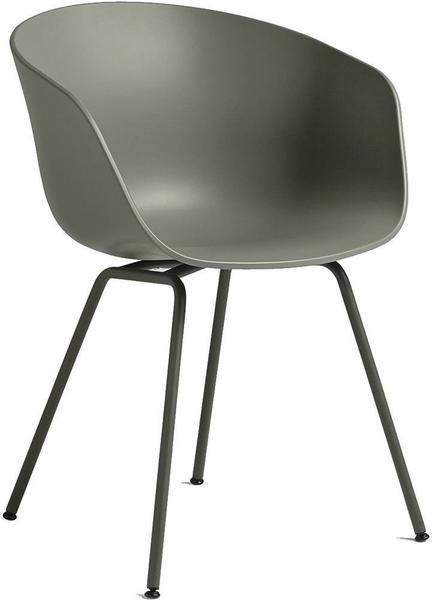 HAY About A Chair AAC26 staubgrün (Gestell schwarz)