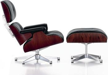 Vitra Lounge Chair & Ottoman XL (neue Maße) Palisander